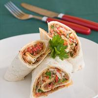 Thai Pork Burritos