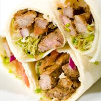 Thai Steak Wraps