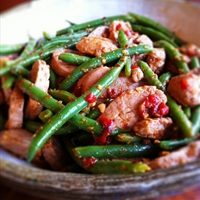 Thai Stir-Fry with Pork and Green Beans