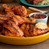 The Ultimate Barbecued Chicken