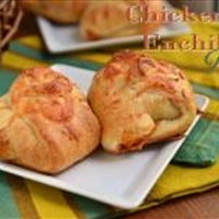 Chicken Enchilada Puffs