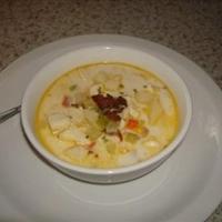 Tilapia Corn Chowder