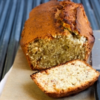 Toasted Coconut Walnut Bread