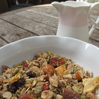 Toasted Honey Muesli with Coconut & Dried Pineapple