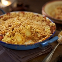 Toffee Apple Crumble