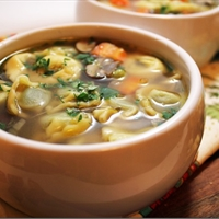 Tortellini Beef Soup