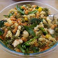 Tri-color Rotini Salad with Vegetables