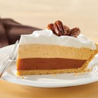 Triple-Layer Pumpkin Spice Pie