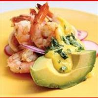 Tropical Avocado & Shrimp