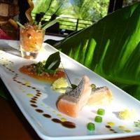Tropical Salmon Three Ways