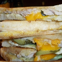 Turkey and Bell Pepper Panini