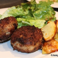 Turkey and Sausage Boulettes