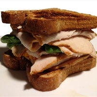 Turkey Cheddar Spinach Sandwich