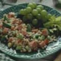 Turkey Ham and Barley Salad