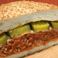 Turkey Sloppy Joes with Bread & Butter Chips