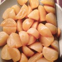 Turnips, Gazed with miso and honey