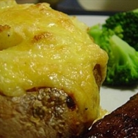 Twice-Baked Gouda-Stuffed Potatoes