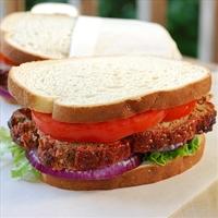 Underground Deli Meatloaf Sandwich