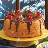Chocolate Cherry Angel Cake