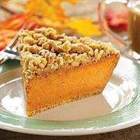 Maple Walnut Pumpkin Pie