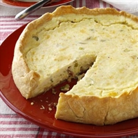 Bacon-Cheese Appetizer Pie