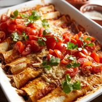 Pulled Pork Enchilada's