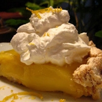 Upside Down Lemon Meringue Pie