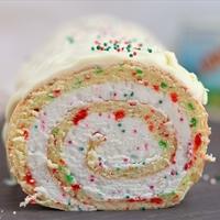 Vanilla Roll Cake