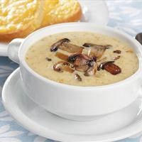 Vegan Caramelized Onion and Portobello Mushroom Soup
