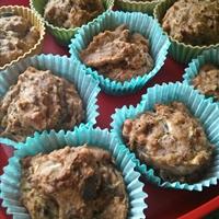 Vegan Courgette Breakfast Muffins