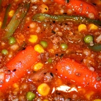 Vegetable Hamburger Stew