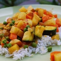 Vegetarian Korma