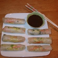 Vegetarian Spring Rolls