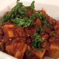 Vegetarian Sweet Potato Chili