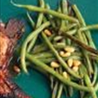 Green Beans with Pine Nuts