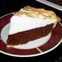 Vern's Chocolate Pie