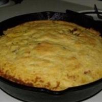 Vern's Skillet Mozzarella Cornbread