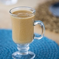 Warm Pumpkin Latte Breakfast Smoothie