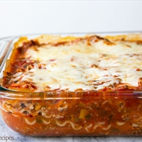 Weight Watcher Lasagna