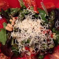White Bean Salad with Roasted Red Pepper and Fennel