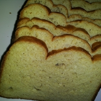 White Bread (Bread Machine, Gluten-free, Sugar-free)