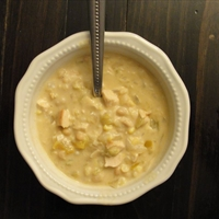 White Chili with Alfredo