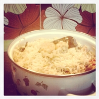 White Prawn Biryani Indian famous dish with a twist