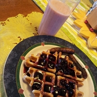 Whole Wheat Belgian Waffle Batter