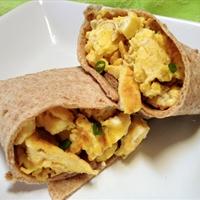 Whole Wheat Breakfast Burrito Recipe