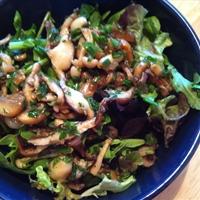 Wild Mushroom Salad with Balsamic Vinaigrette
