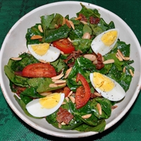 Wilted Spinach Salad