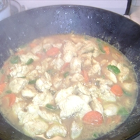 Wok Curry Chicken