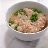 Won Ton Soup (Ground Chicken)