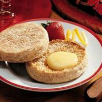 Whole Wheat/ Plain Flour English Muffins Recipe